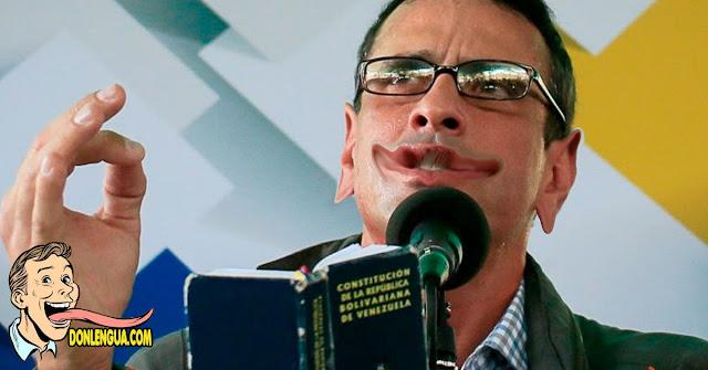 CAPRIDIOTA | Criticó a Guaidó y a Leopoldo por nunca poner un pie en La Carlota