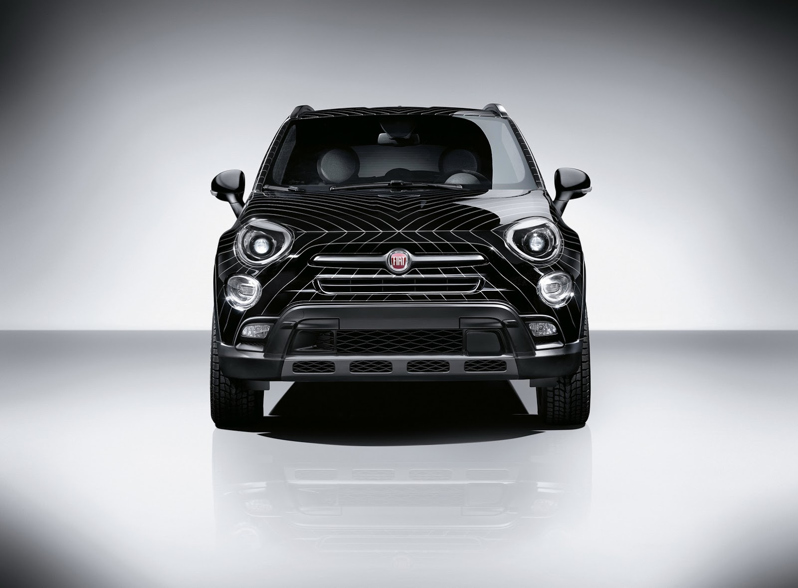 Fiat 500x Black Tie Study Made By Lapo Elkann S Garage