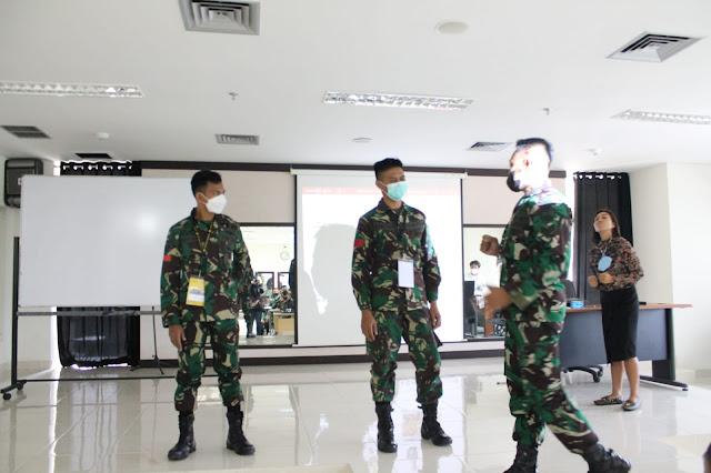 Anggota Penrem 091/ASN Mengikuti Pelatihan Kehumasan dan Jurnalistik