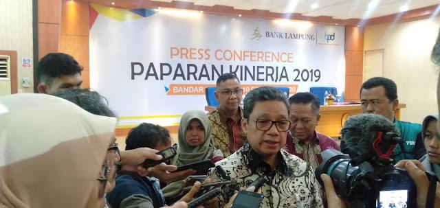Di Tahun 2019, Kinerja Bank Lampung Melesat