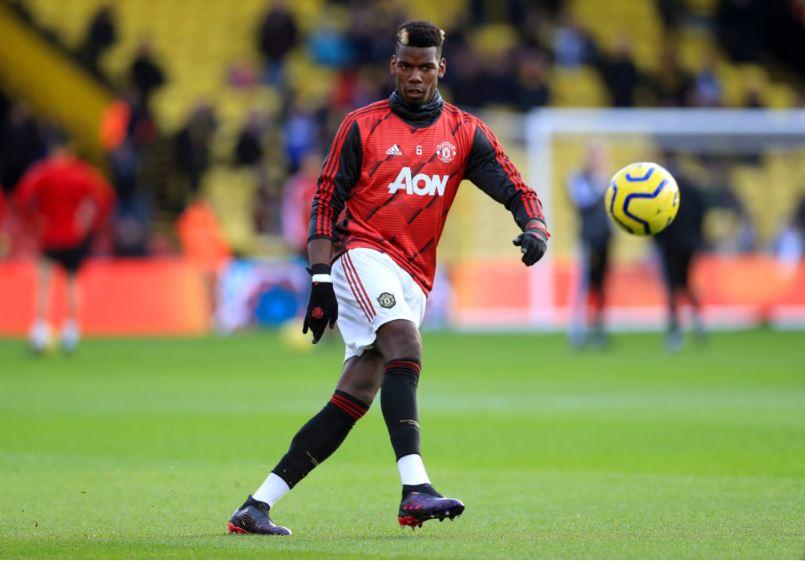 Manchester United's midfield talisman Paul Pogba