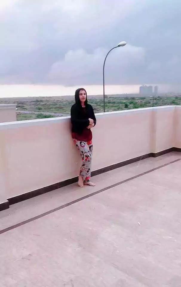 Javeria Saud Enjoying Rainy Day With Baby Jannat