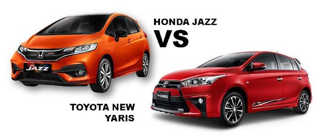 Komparasi Honda JAZZ atau Toyota YARIS Mana Yang Lebih Unggul