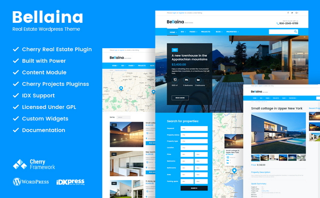 Best Real Estate Business Website Theme