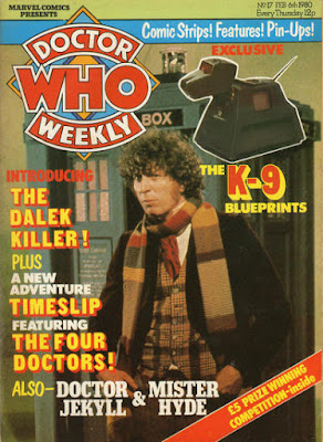 Doctor Who Weekly #17, Tom Baker