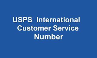 USPS  International  Customer Service Number