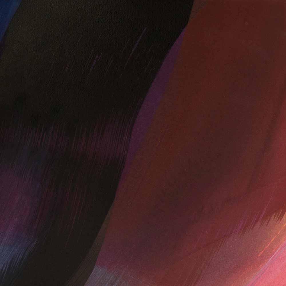 Aquarelle détail 3, 110 x 144 cm, mai 19 © Annik Reymond