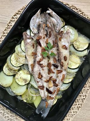 Recopilatorio Reto Alfabeto Salado: recetas con lubina y sidra