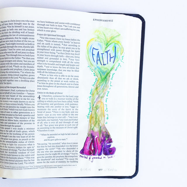 Illustrated faith, journaling bible