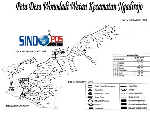 Profil Desa & Kelurahan, Desa Wonodadi Wetan Kecamatan Ngadirojo Kabupaten Pacitan