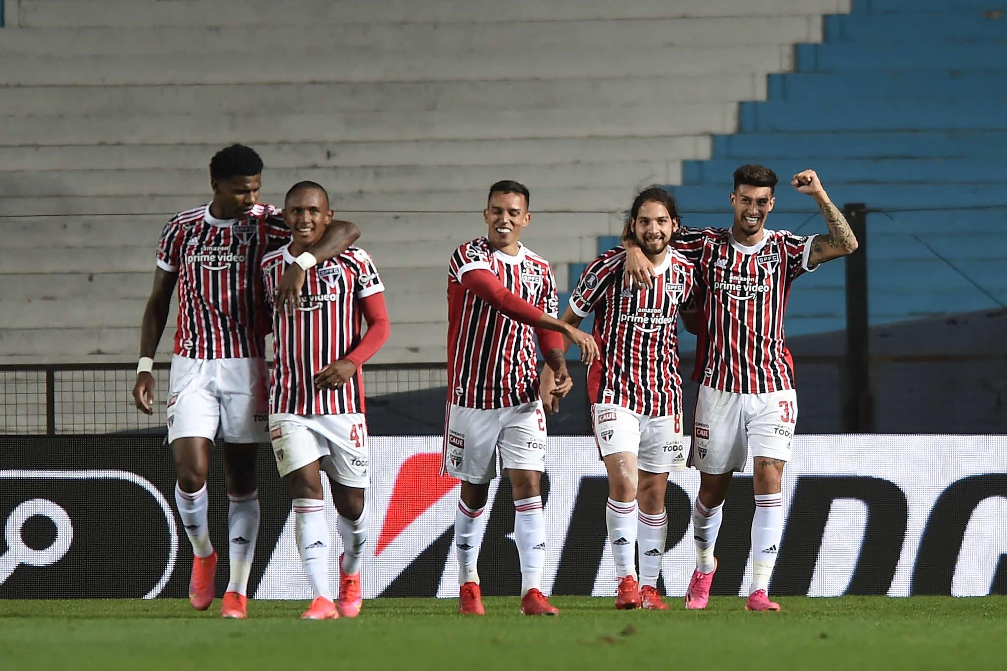 Racing quedó eliminado de la Libertadores al perder con San Pablo