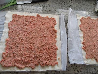 Caracolas de carne picada Thermomix