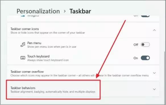 Cara Menyembunyikan Taskbar Windows 11-4