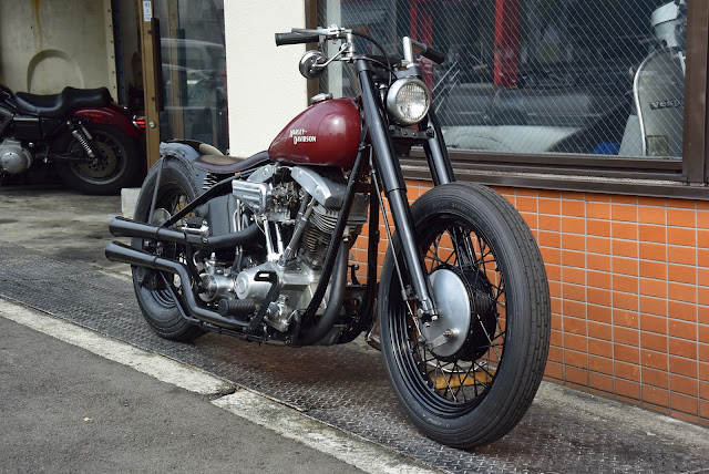 Harley Davidson Shovelhead 1973 By Bold Idea Custom Cycles Hell Kustom