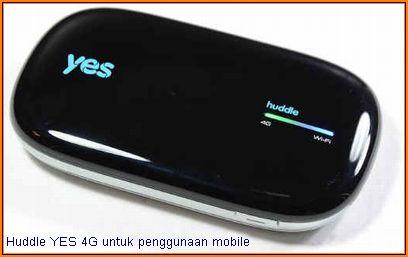 Huddle YES 4G: prestasi di Kelantan dan Gerik.