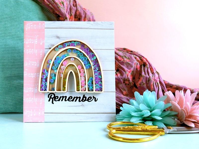Mini album con arcobaleno shaker di KREA