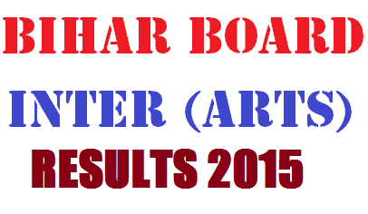 Bihar Board Inter Arts Result 2015
