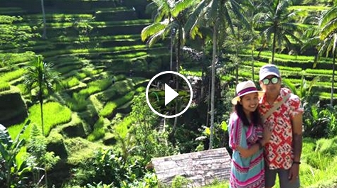 Romantic Honeymoon trip in Bali, Indonesia