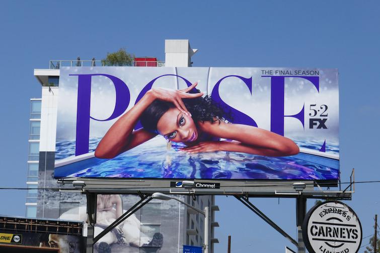 Dominique Jackson Pose final season billboard