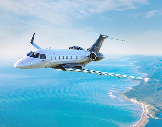 Embraer (EMBR3) recebe a certificação da ANAC e da FAA de Sistema de Orientação por Visão Sintética para Praetor 500 e Praetor 600 | É MAIS QUE VOAR