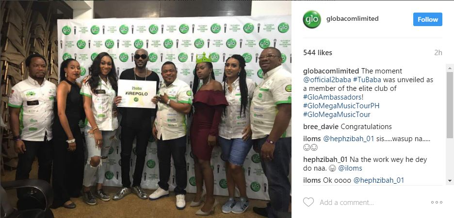 Legendary Nigeria Musician 2face Idibia Bags Another Contract And He Hits The List Of Latest Ambassadors Signed To Nigerias Telecommunication Giants