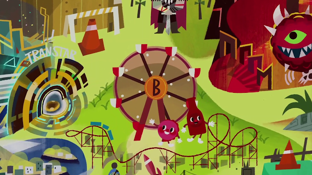 Bethesda Bethesdaland land E3 2017 cartoon ferris wheel