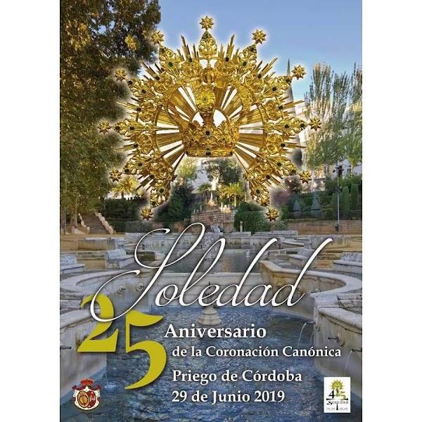 Procesión Extraordinaria Nuestra Señora de la Soledad de Priego de Córdoba con motivo del 25 aniversario de su Coronación Canónica
