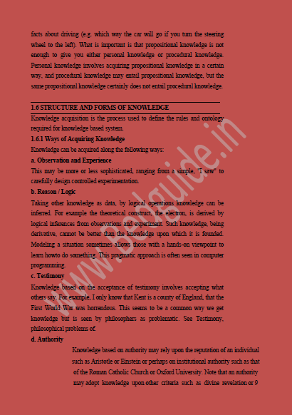 Knowledge and Curriculum Notes PDF Download