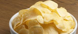 kerupuk kentang kipas lezat