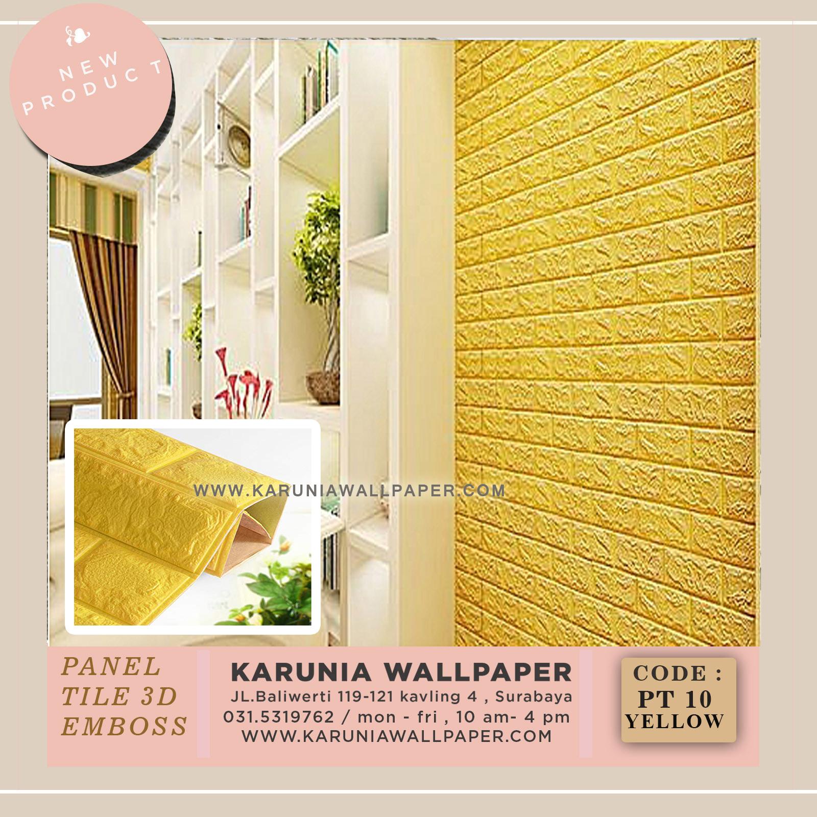 jual wallpaper dinding timbul murah