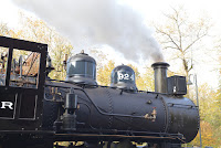 The 924 under steam on November 1, 2020