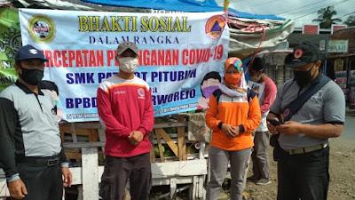 Bhakti Sosial SMK Patriot Bersama Bpbd Kabupaten Purworejo