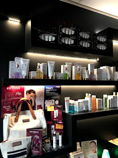 Jun Lin Sun Day Spa Hobart retail display Sothys Paris