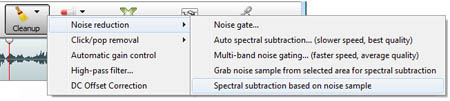 Remove Background Noise from Audio Recordings with WavePad