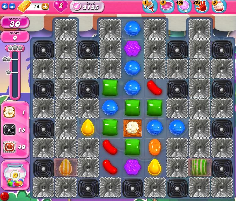 Candy Crush Saga level 2125