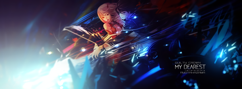 Guilty Crown Free PSD Reference