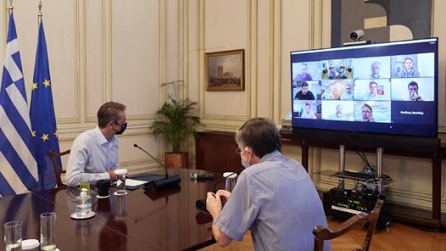 Ο Κ. Μητσοτάκης προανήγγειλε την ανακοίνωση νέων μέτρων εντός της ημέρας