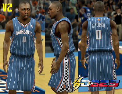 NBA 2K13 Charlotte Bobcats Racing Jersey Patch