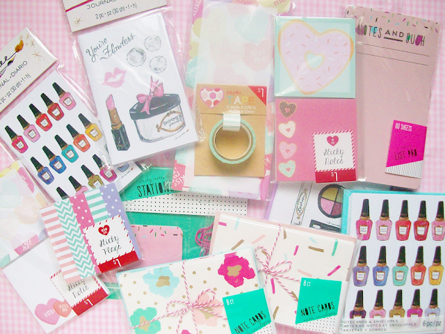 Target and Michaels Stationary Haul