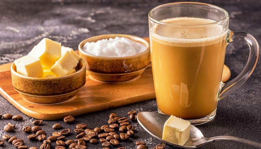 Homemade Bulletproof Coffee