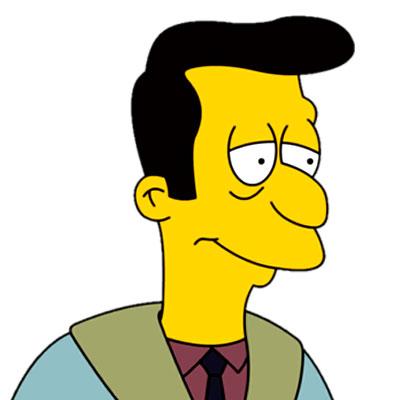 Los Simpson Personaje Reverendo Lovejoy