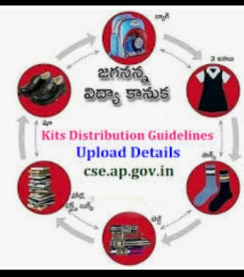 School Education - Jagannana Vidya Kanuka- Distribution of School Kits - Certain instructions -Instructions issued