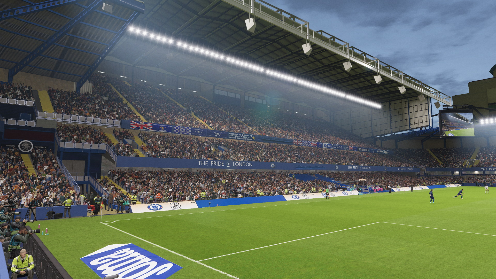 PES 2021 Stamford Bridge New Version