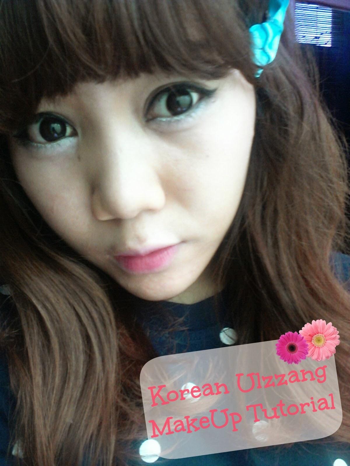 Sweet Peach: [MAKEUP] Korean Ulzzang Makeup