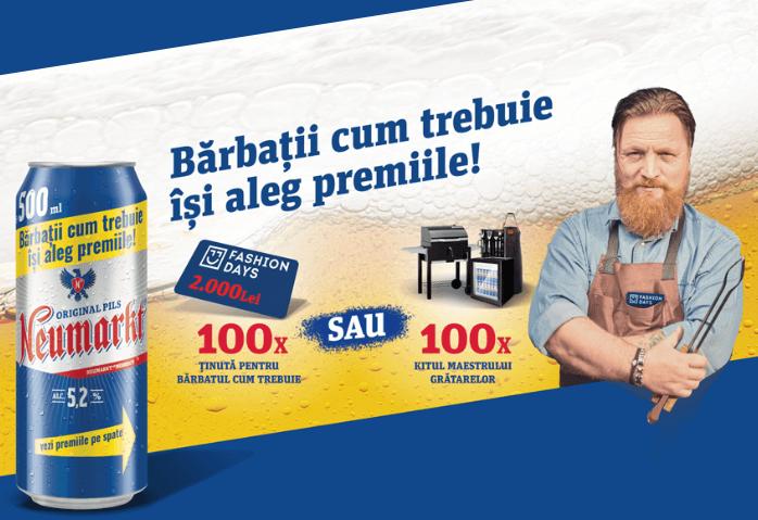 Concurs Bere Neumarkt - barbaticumtrebuie - Castiga mii de premii garantate - vouchere - castiga.net - promotie