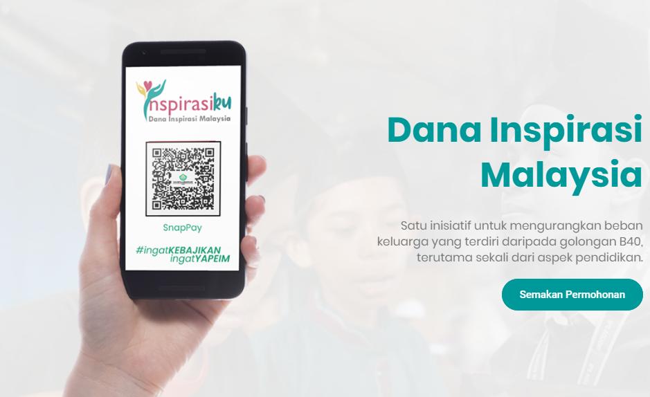 Semakan Status Bantuan Persekolahan IPT YAPIEM (Dana Inspirasi Malaysia)