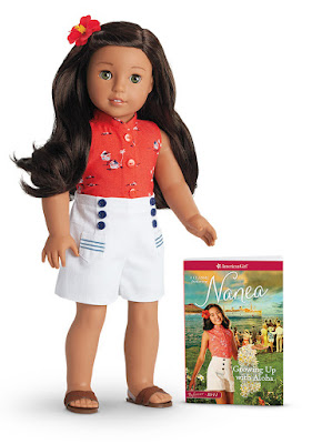 American Girl's newest BeForever character, Nanea Mitchell, a Hawaiian girl growing on the island of Oahu in 1941.