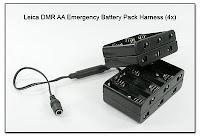 Leica DMR AA Emergency Battery Pack Harness (4x)