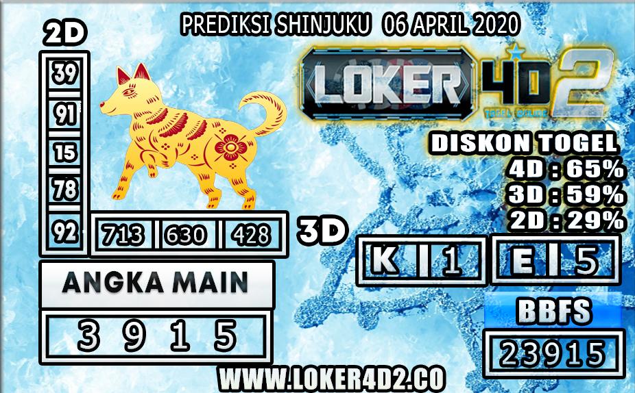 PREDIKSI TOGEL SHINJUKU LUCKY 7 LOKER4D2 06 APRIL 2020