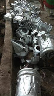 Produk pengecoran logam atau metal casting